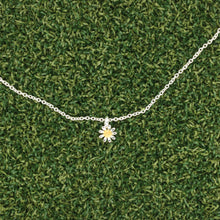 Load image into Gallery viewer, Daisy Small Silver Necklace