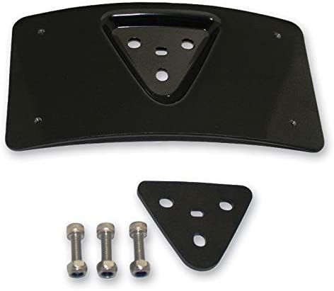 Custom Dynamics Radius License Plate Bracket Black