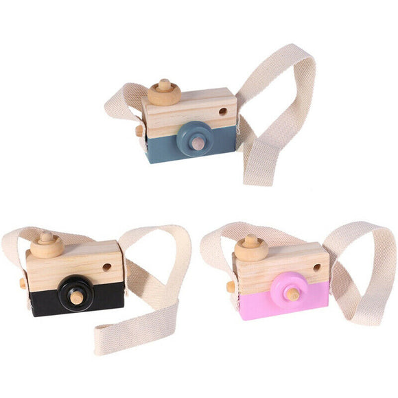 Cute Wooden Camera, 3 Colours Available!
