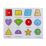 Wooden Learn The Shapes Puzzle