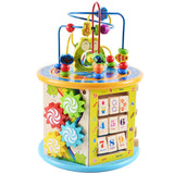 8in1 Wooden Activity Cube