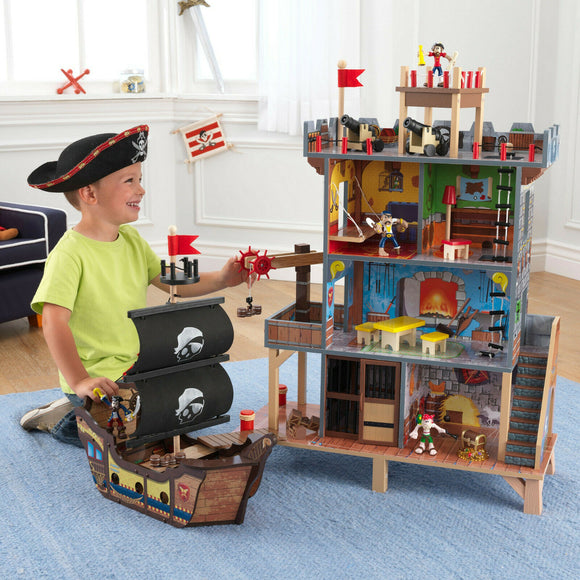 Pirate's Cove Play Set with Accessories