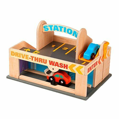 Toy Parking Garage and Car Wash