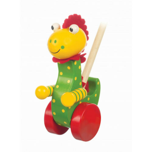 Dinosaur Push Along Wooden Toy
