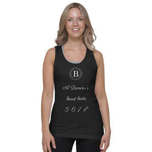 A Dancer's Heart Beat Tank Top (unisex)