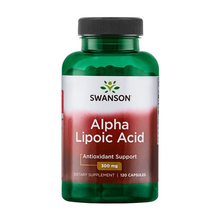 Load image into Gallery viewer, Swanson Alpha Lipoic Acid 300mg 120 Capsules