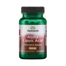 Load image into Gallery viewer, Swanson Alpha Lipoic Acid 300mg 60 Capsules