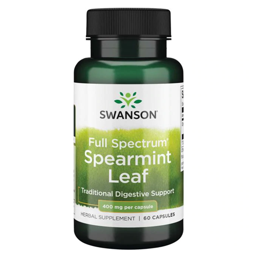 Swanson Full Spectrum Spearmint Leaf