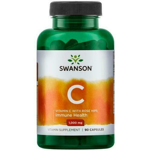 Swanson Vitamin C with Rose Hips