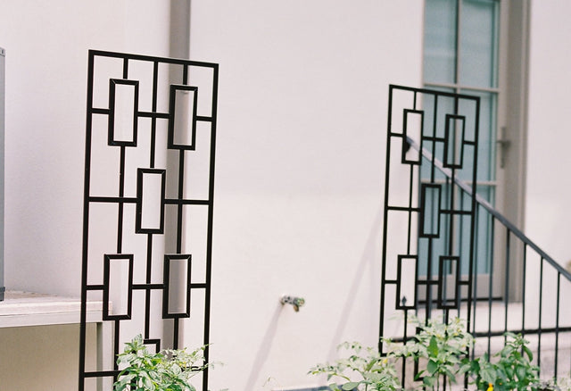 Contemporary Panel Trellis