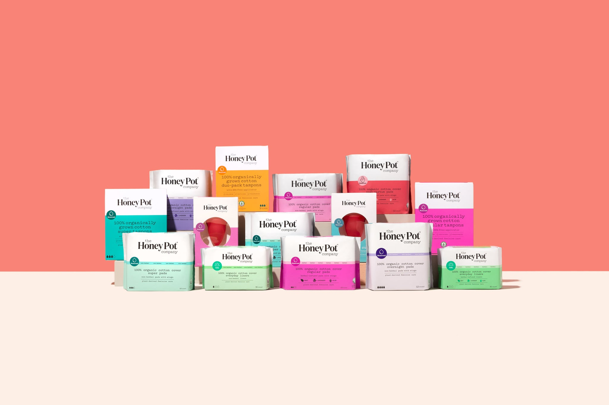 Plant-Based Feminine Care | Female Hygiene - Honey Pot Feminine Care