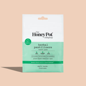 herbal pantiliners travel pack