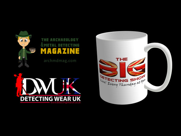 The Big Detecting Show Mug