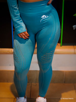 Wicked Leggings Aqua