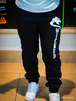 Sweatpants Women's Black White