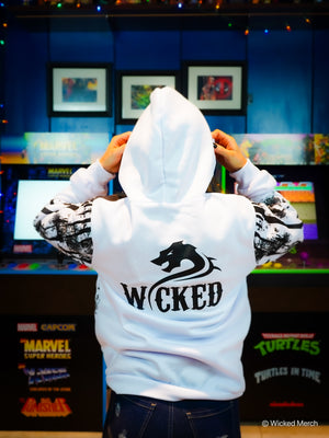 Wicked Drip sweater Women's White
