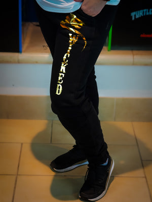 Sweatpants womens Black Gold