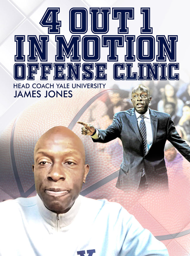 4 Out 1 In Motion Offense Clinic by James Jones