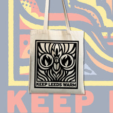 Load image into Gallery viewer, Keep Leeds Warm Tote Bag