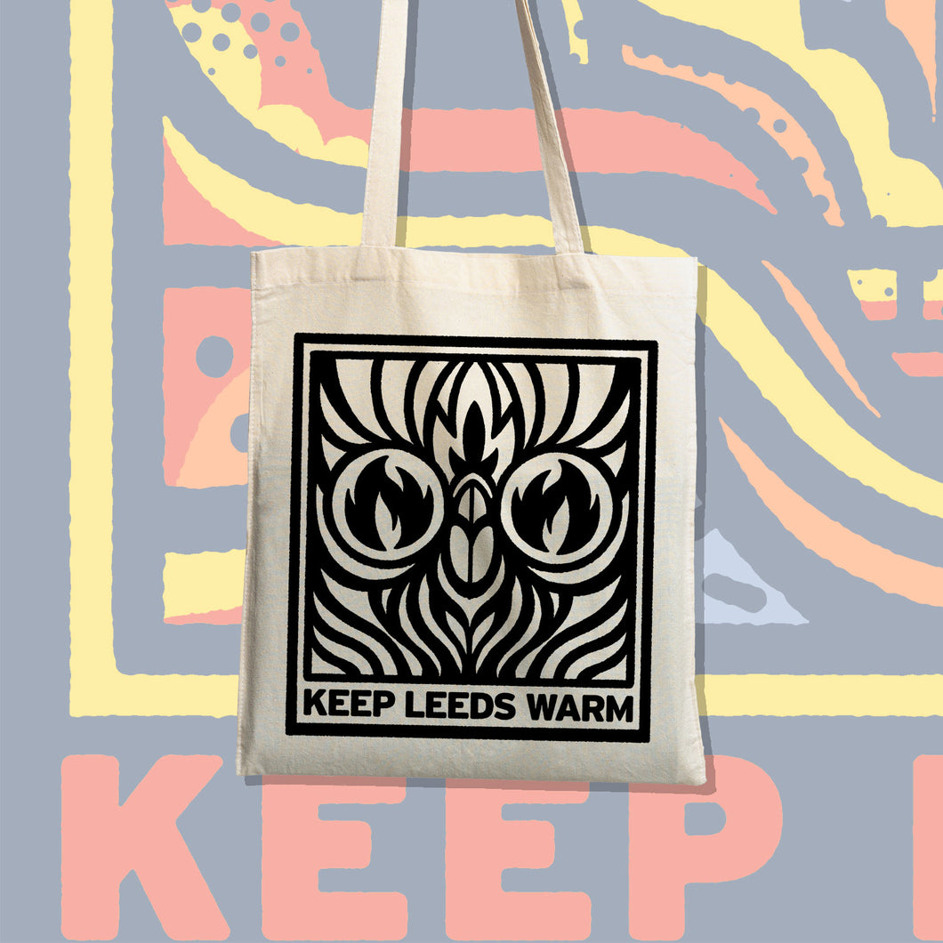 Keep Leeds Warm Tote Bag