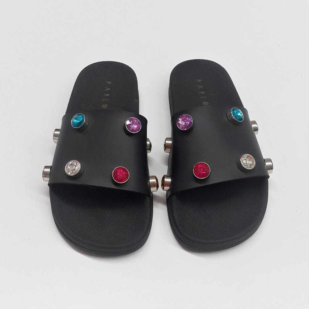 Multi Crystal Black Slides