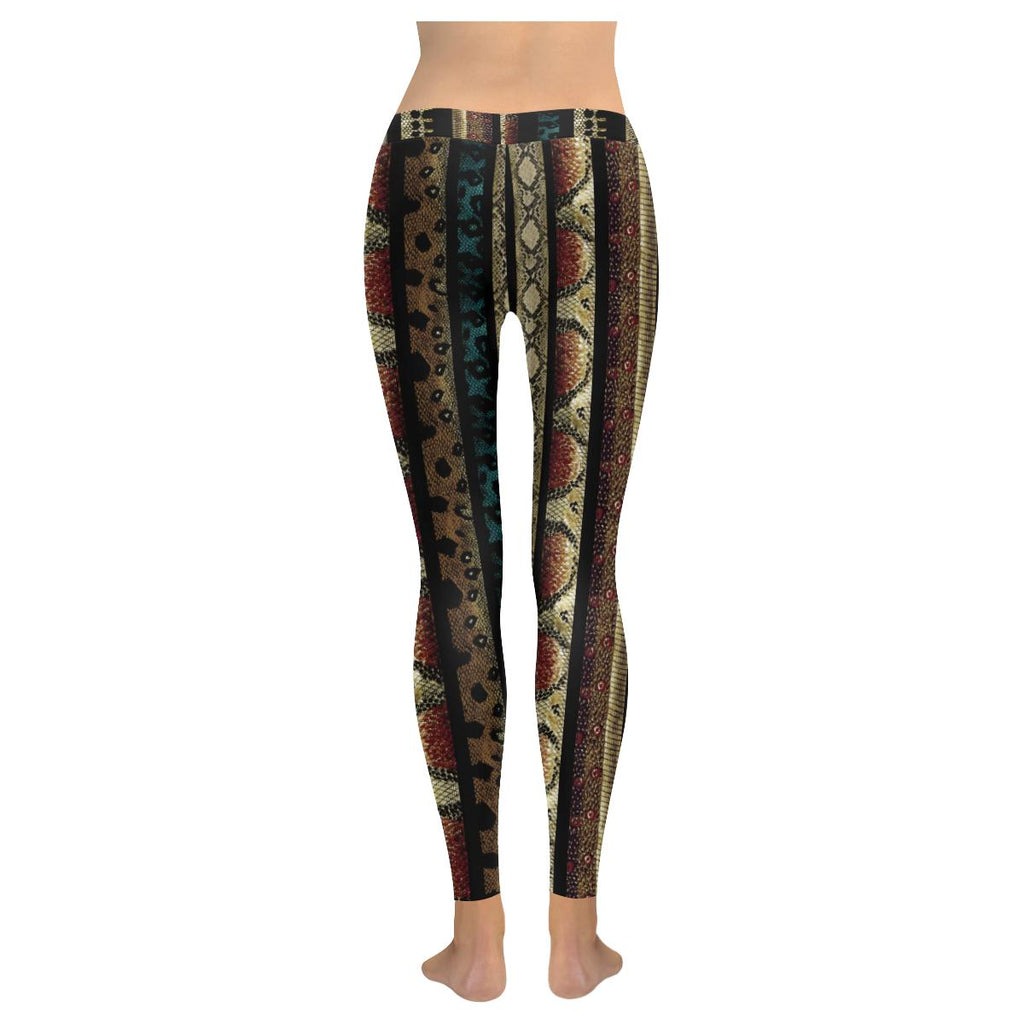 Load image into Gallery viewer, Seamless Animal Print Leggings