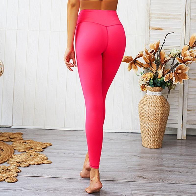 Workout Clothes For Women Pink Yoga Shirt Trainning Running Set - MorphU LLC