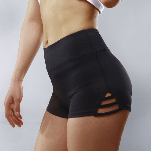 Compression Breathable Yoga Shorts Women Push up