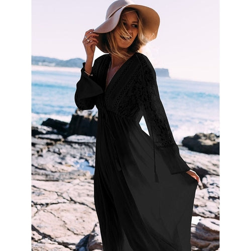Sexy Long Dress Beach Cover Up - MorphU LLC