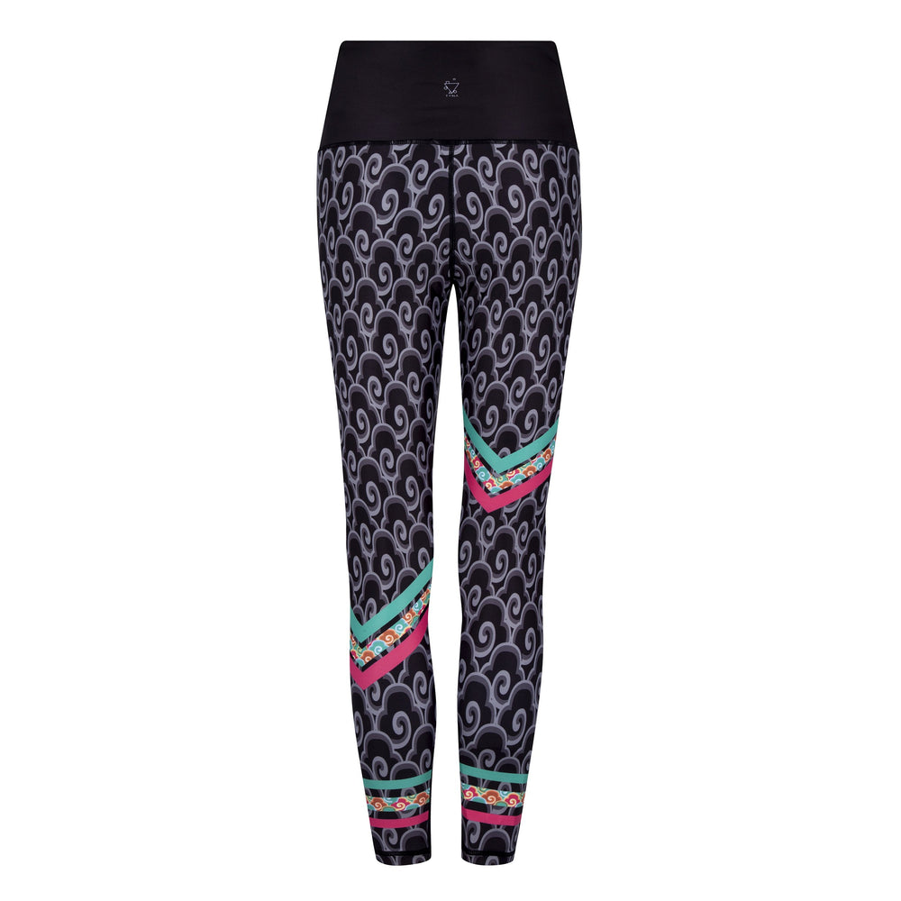 Heading East Splash Leggings - MorphU LLC