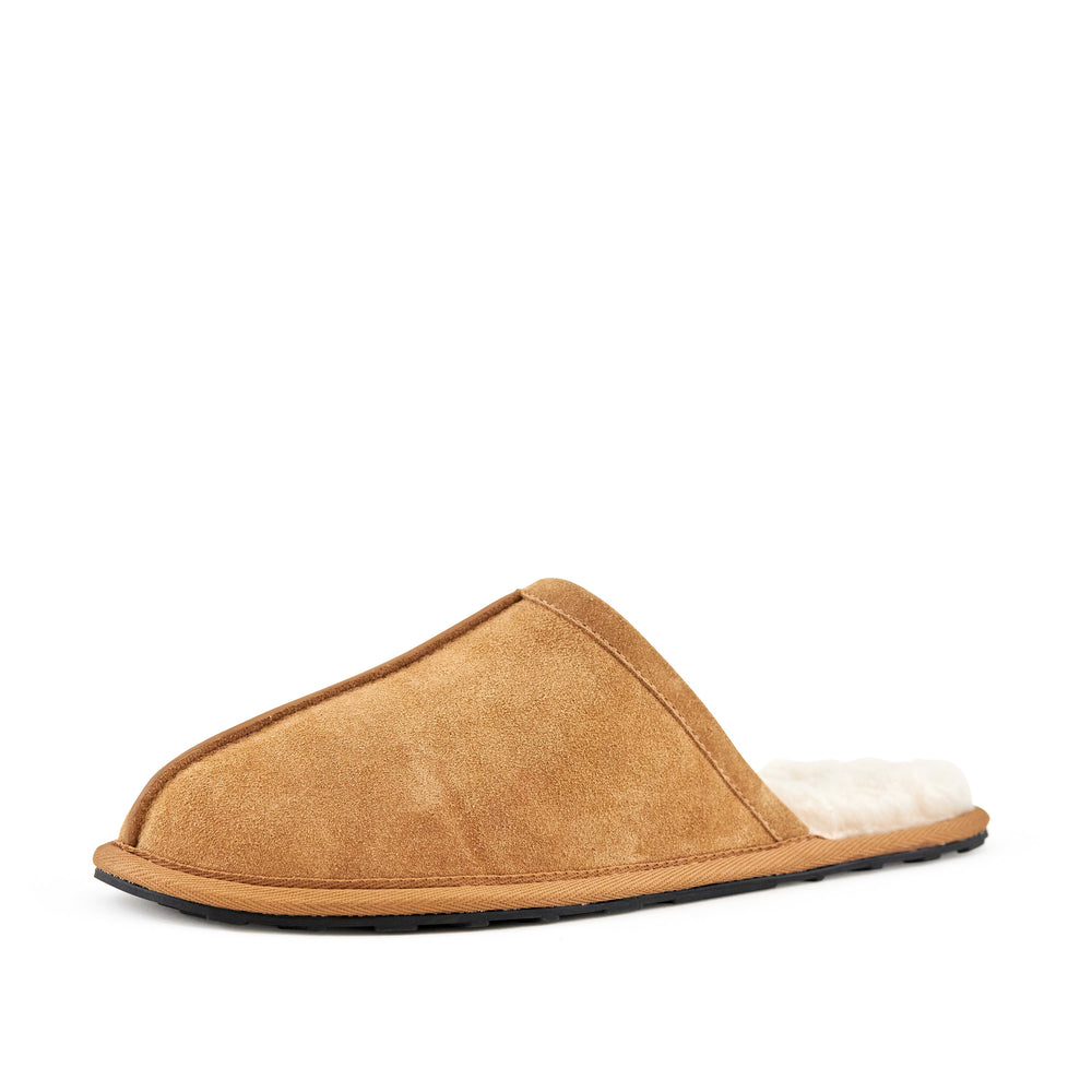 Men's Snuggle Slippers Camel