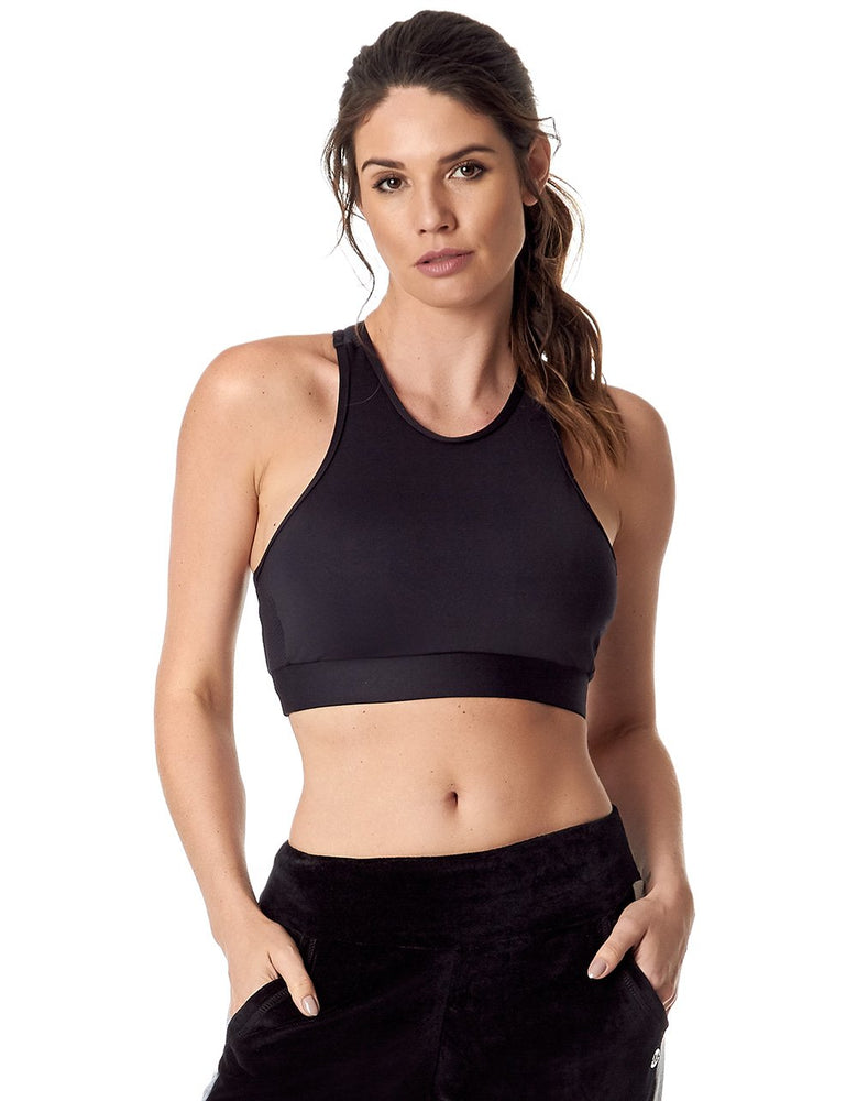 Load image into Gallery viewer, SPORTS BRA 272 PERFECT BLACK - MorphU LLC