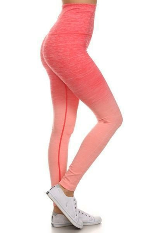 Load image into Gallery viewer, Women's Active Ombre Leggings (S-L)(4 Colors) - MorphU LLC
