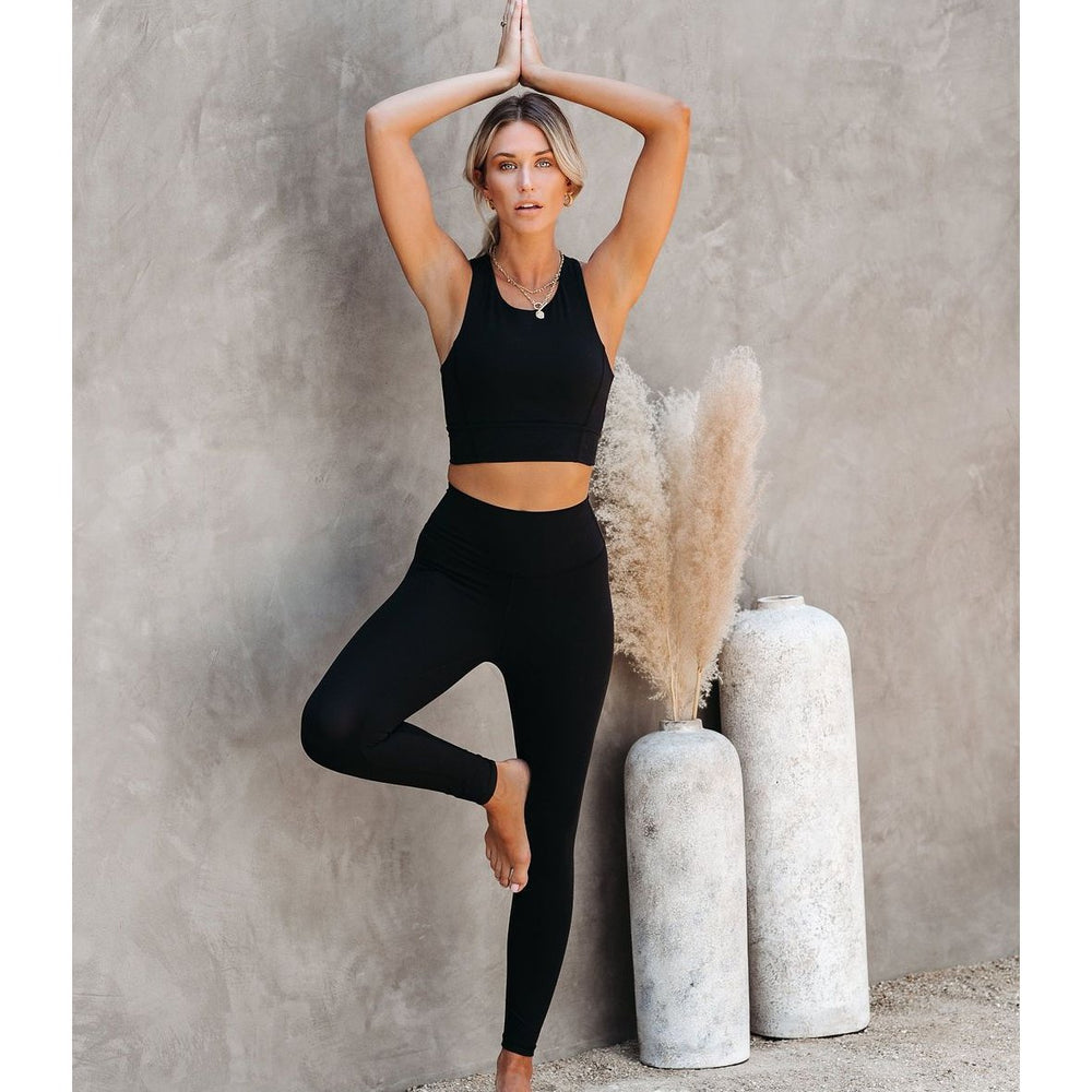 2PCS/Set Fitness Women Yoga Suit High Stretchy Workout Sport Set - MorphU LLC