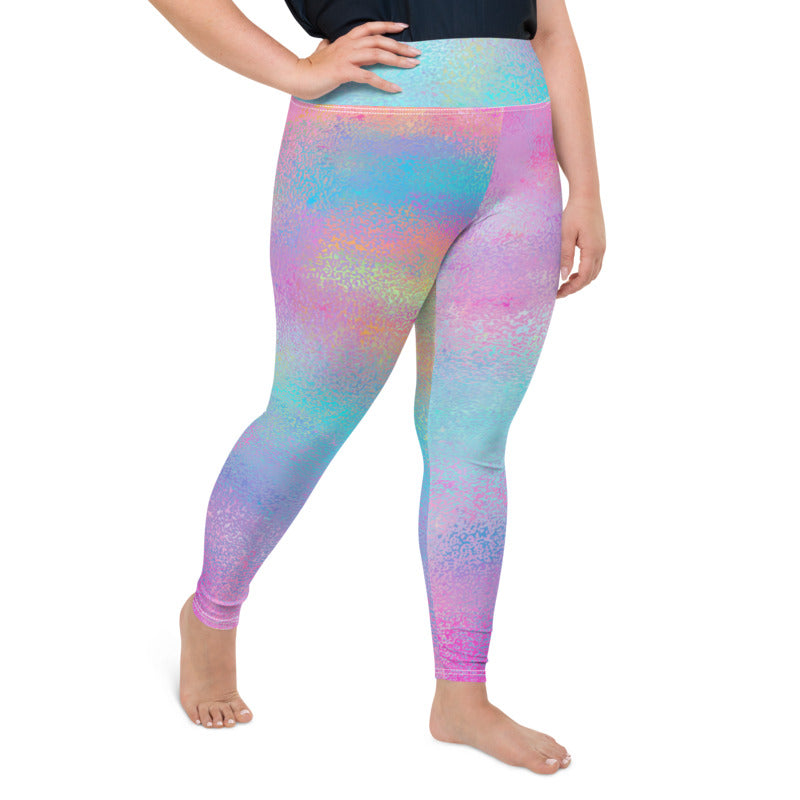 Load image into Gallery viewer, Plus Size Fun Leggings