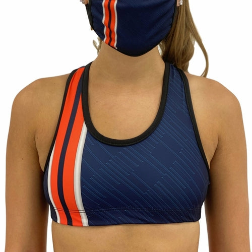 Load image into Gallery viewer, Denver Football Sports Bra