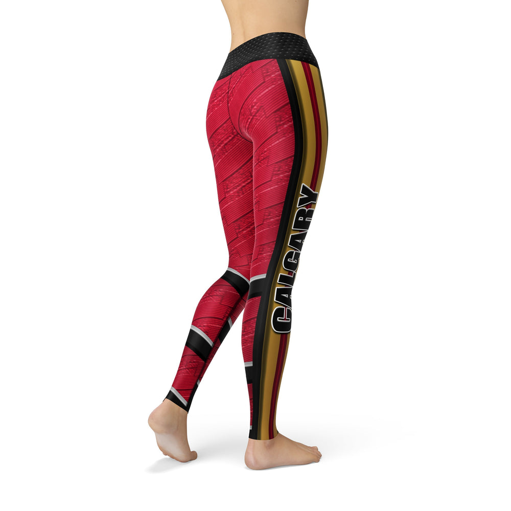 Jean Calgary Hockey Leggings - MorphU LLC