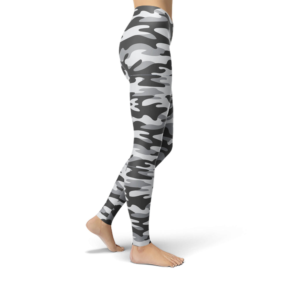 Load image into Gallery viewer, Jean Dark Grey Camouflage Leggings