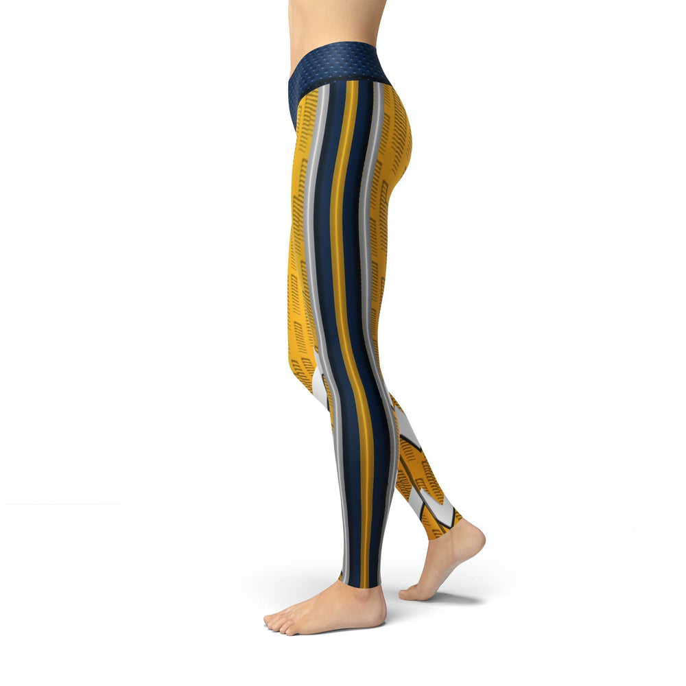 Jean Nashville Hockey Leggings - MorphU LLC