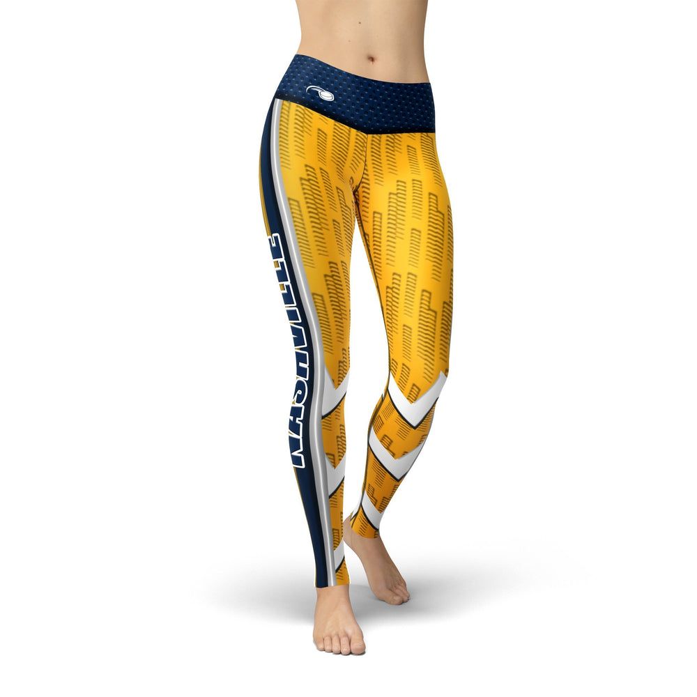 Load image into Gallery viewer, Jean Nashville Hockey Leggings - MorphU LLC