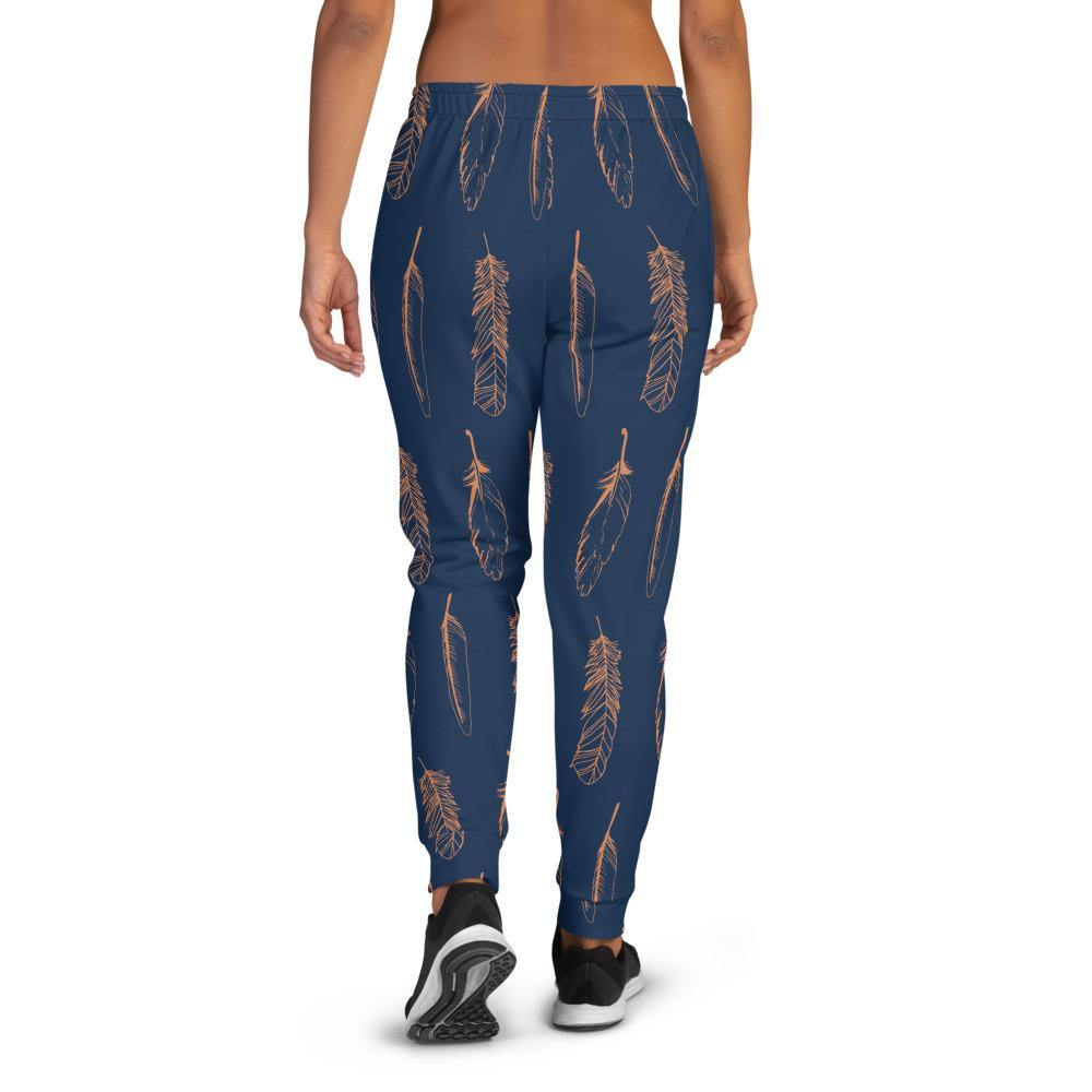 Women's Feather Boho Joggers