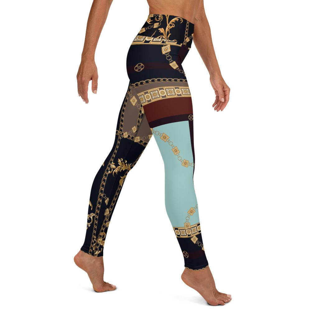 Baroque Chains High Waist Leggings - MorphU LLC