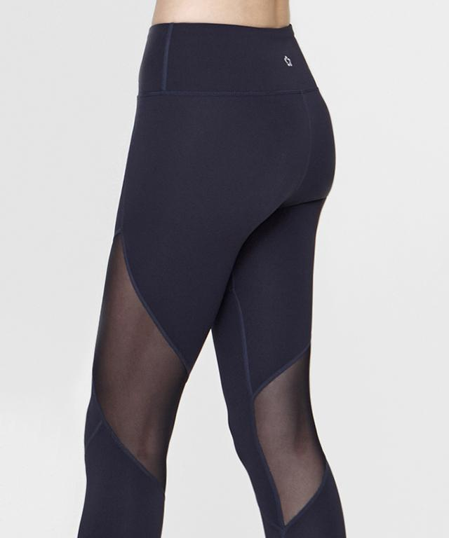 Spin Mesh Block Leggings - MorphU LLC