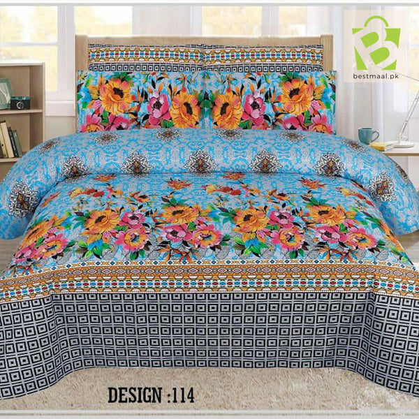 Gul Ahmed Bedsheet King Size | 103