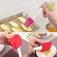 Silicone Oil And Spatula Pastry Brush Set