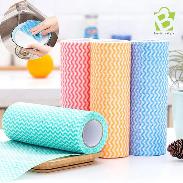 Cleaning Cloths Non-woven Fabric Towel Roll
