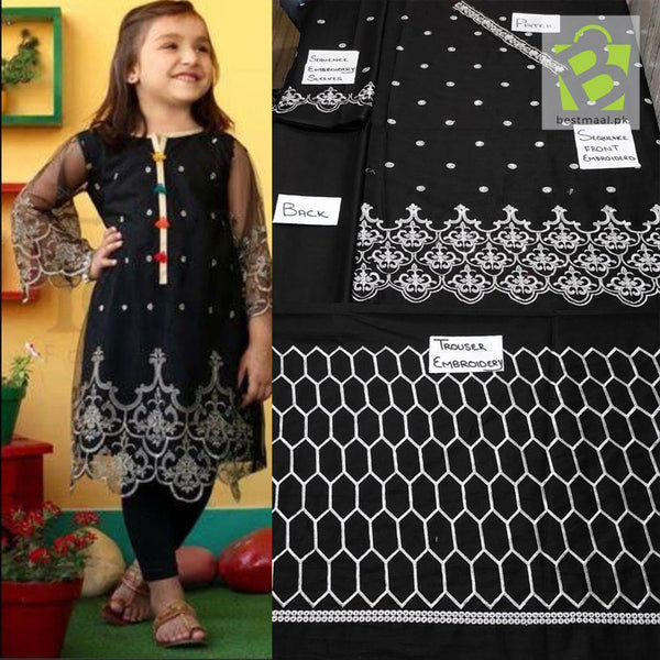Kids Eid Collection Lawn 2 Piece - 02