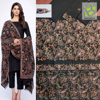 Bareeze Lawn 3Pc | Full Embroidered | Black