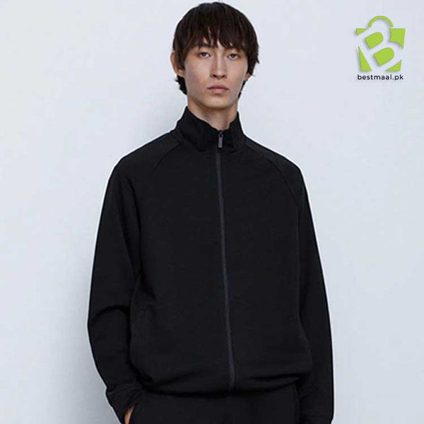 ZARA Sports Polyester Jacket - Black