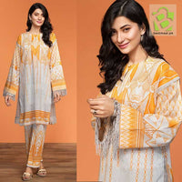 Original Nishatlinen Digital Printed Lawn | 2 Pc | Design 4